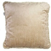 Glenna Jean Victoria Pillow with Cord, Tan Velvet