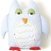 Owl Shaped Nursery Pillow by The Little Acorn