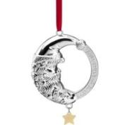 Lenox 2012 Babys 1st Christmas Rattle Metal Ornament