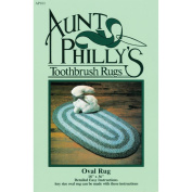 Aunt Philly's Toothbrush Rugs-Oval Rug