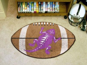 FANMATS NCAA Texas Christian University Horned Frogs Nylon Face Football Rug