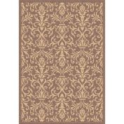 Dynamic Rugs Piazza Rockwell Brown Rug Rug Size