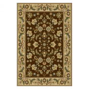 Central Oriental 8805BW80 Interlude Cambridge Brown 2.1m by 2.7m Area Rug