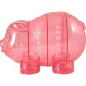 Money Savvy Piggy Bank - Pink