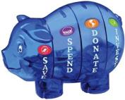 Money Savvy Piggy Bank - Blue