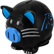 Forever Collectibles Carolina Panthers Large Resin Thematic Piggy Bank