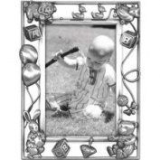 Malden Nursery Parade Picture Frame, Silver, 10cm x15cm