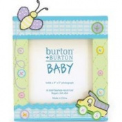 BabySteps Baby Boy Dump Truck Buttons Photo Frame 3 1/2 Photo