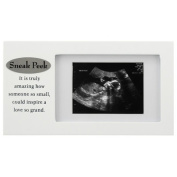 Malden Sneak Peek Sonogram Juvenile Frame, White