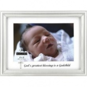 Godchild Silver Charm Frame by Malden Design