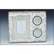 Baby Picture Frame and Keepsake Gift Box Set - Boy