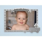Malden Juvenile Picture Frame in Blue, Boy Oh Boy