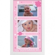 JAF Gifts 3 Opening 4x6 Pink Collage Picture Frame - Shadowbox