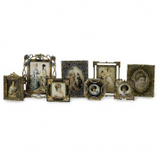 IMAX 21141-8 Vintage Jeweled Frames - Set of 8