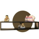 Danya B QBA600 Decorative Shelf W Adhesive Mirror