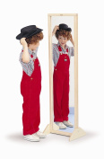 Whitney Bros WB0338 Vertical or Horizontal Mirror W/Stand