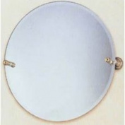 Allied Brass DT-90-PB Dottingham Polished Brass 56cm Round Tilt Bevelled Mirror