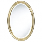 Blake Oval Antique Gold Mirror