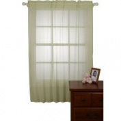 NoJo Shimmer Window Sheers - Sage
