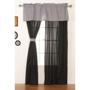 One Grace Place 10-20040 Teyo's Tyre Drapes - 2 Panels - 112cm x 206cm