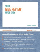 Your MBE Review Made Easy