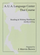 Thai Writing (Workbook)