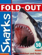 Fold-Out Sharks Sticker Book