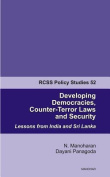 Developing Democracies, Counter-Terror Laws & Security