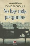 No Hay Mas Preguntas [Spanish]