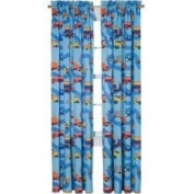 Room Magic Boys Like Trucks Cotton Rod Pocket Curtain Panel Pair