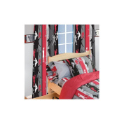 Room Magic Action Sports Cotton Curtain Panel Pair