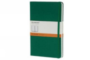 Moleskine Classic Notebook, Pocket, Ruled, Oxide Green, Hard Cover