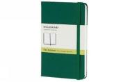 Moleskine Classic Notebook, Pocket, Plain, Oxide Green, Hard Cover
