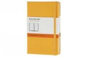 Moleskine Orange Yellow Pocket Ruled Notebook Hard