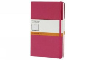 Moleskine Classic Notebook, Pocket, Ruled, Magenta, Hard Cover