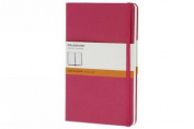Moleskine Magenta Pocket Ruled Notebook Hard