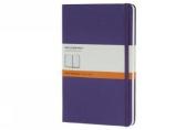 Moleskine Classic Notebook, Pocket, Ruled, Brilliant Violet, Hard Cover