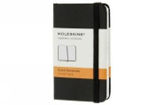 Moleskine Classic Notebook, Extra Small, Ruled, Black, Hard Cover