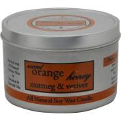Aroma Paws 183 - Travel Tin Candle - Orange Nutmeg Vetiver - 240ml