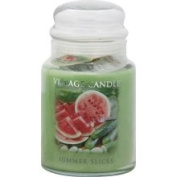 Village Candle Candle, Summer Slices - 770ml [22 oz (627 g)]