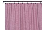 Ellis Curtain Logan Gingham Cheque Print Bathroom Shower Curtain in Red