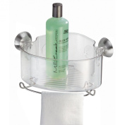InterDesign Forma Powerlock Suction Corner Basket 79820