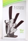 5 Piece Ceramic Knife Set