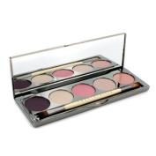 Les Macarons Face Palette (2x Eye Colour + 1x Highlighter + 1x Cheek Colour + 1x Lip Gloss + 1x Applicator), 5x1g/10ml