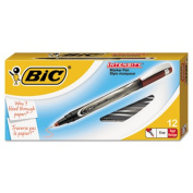 Bic FPIN11-RD Intensity Permanent Pen 0.5 mm Fine Red Dozen