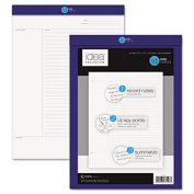 Idea Collective Legal Pad, 5 x 8, White, 50 Sheets