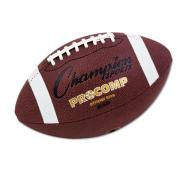 Champion Sports CF200 Champion Sports Pro Composite Football, Intermediate Size, 21, Brown