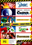 Babe / Casper / Thunderbirds / The Grinch / Peter Pan (5 Movie Kids)  [3 Discs] [Region 4]