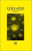Collapse: Philosophical Research and Development: 2012