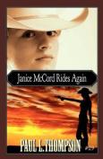 Janice McCord Rides Again